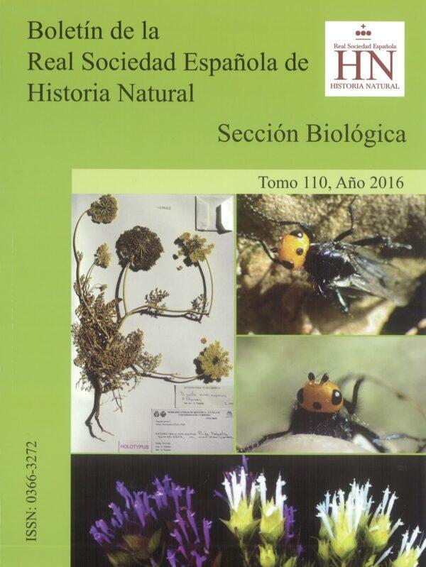 Boletín Real Sociedad Española de Historia Natural.110.2016