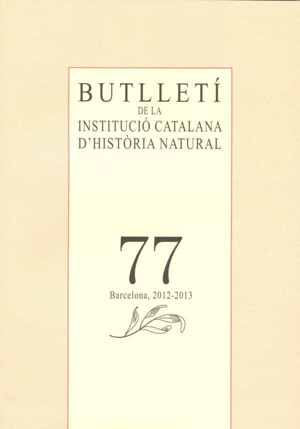Butll. Ins. Catalana Hist. Nat.
