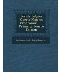 Dumort., Fl. Belg. (1827)Florula Belgica