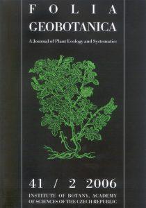Folia Geobot. Phytotax. (1967-) (Folia Geobotanica et Phytotaxonomica)