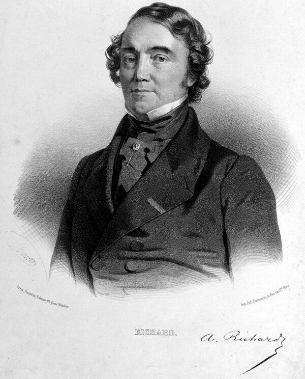 L0025132 Achille Richard. Lithograph by N.-E. Maurin.
