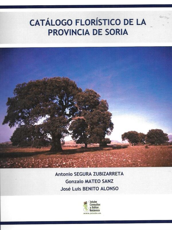 Catalogo floristica de la provincia de soria