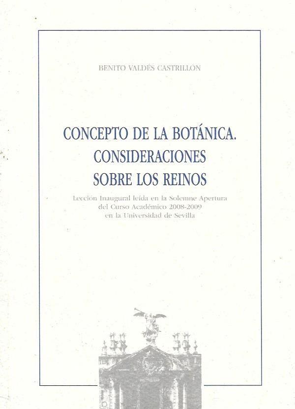 Concepto de la botanica. Consideraciones sobre los reinos