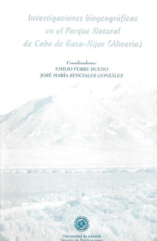 Investigaciones biogeograficas en el parque natural de cabo de